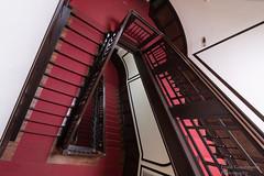 Staircase (Frank Guschmann) Tags: treppe treppenhaus escaliers staircase stairwell stufen steps frankguschmann nikond500 d500 nikon