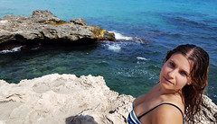 Retrato en Moraira (lagunadani) Tags: retrato portrait playa mar mediterraneo moraira alicante beach galaxys6 samsumg