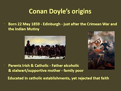The Crimean War and the Indian Mutiny had a significant influence on Conan Doyle's writings (photo by Roger Johnson)