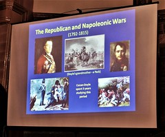 Conan Doyle was fascinated by the Napoleonic Wars. An ancestor, Sir Denis Pack, was one of Wellington's generals (photo by Roger Johnson)
