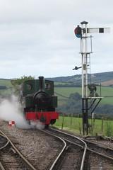 2451 Woody Bay L&BR 120918 (John Neave) Tags: lyntonbarnstaplerailway railway locomotive woodybay