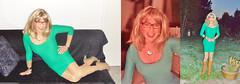 so greeeeen (Katvarina) Tags: crossdress crossdresser crossdressing transgender tgirl transgirl