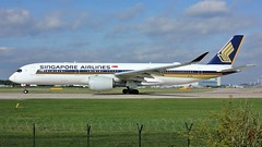 9V-SML (AnDyMHoLdEn) Tags: singaporeairlines a350 staralliance egcc airport manchester manchesterairport 23l
