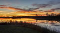 Sunset (Peter Stahl Photography) Tags: sunset lake islelake alberta canada vibrant