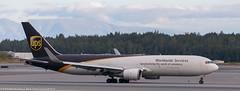 UPS 767 at ANC (Alaskan Dude) Tags: travel alaska anchorage anchorageinternationalairport airplane airplanes airliners aviation planes planespotting planewatching