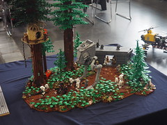 Updated Endor collab. (Jan, The Creator) Tags: lego endor moc collab star wars hobby 2018 zbudujmyto