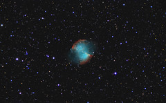 M27 - The Dumbbell Nebula - Combined Data (CajunAstro) Tags: m27 dumbbell stars astrophotography telescope televue tv85 space sky imx224 sony canon dslr nebula