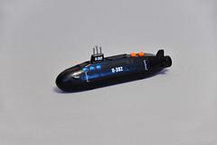 Nuclear submarine (Sonar Active) (makushima) Tags: nuclear submarine toy light sound