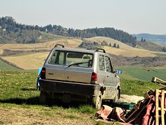 Fiat Panda 4x4 Country Club (Alessio3373) Tags: abandoned abandonment abandonedcars autoabbandonate unused unloved neglected forgotten forgottencars fiat panda4x4 fiatpanda fiatpanda4x4 fiatpanda4x4countryclub country countryside colline hills campagna landscape nature toscana