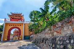 A temple at the banana trees. (NguyenMarcus) Tags: vungtau bàrịa–vũngtàu vietnam vn worldtrekker aasia