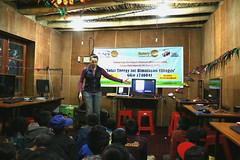 Talking to Photoksar students