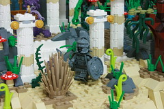"LEGO "" Classic myths "" diorama. (gkdldis1201) Tags: lego moc diorama minifigure minifigures minifig minifigs mini figure creation custom classic myths"