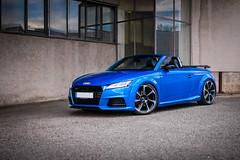 Audi TT Roadster (holgerreinert) Tags: 2018 8s arablau audi auditt kwv3 kwsuspension oktober tt mk3