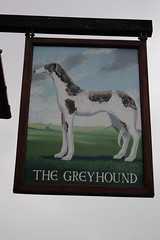The Greyhound, Corfe Castle, Dorset. (Peter Anthony Gorman) Tags: greyhound dorsetpubs corfecastle pubsigns peteroldrieve dogs