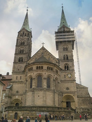 Bamberg Cathedral #1 (jimsawthat) Tags: enhanced church abby cathedral smalltown bamberg germany architecture historic