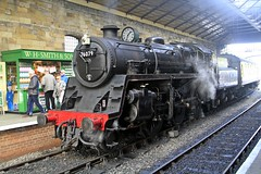 _MG_0874 (M0JRA) Tags: trains pickering steam railways rail stations people smoke coal engines