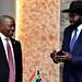 Deputy President David Mabuza visits South Sudan, 15 October 2018