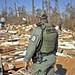 FWC officer surveys damage