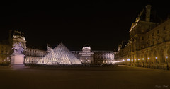 Pyramide du Louvre (Fred LP) Tags: paris night urban cityscape louvre france