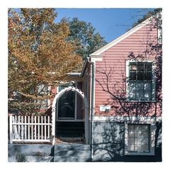 William Doyll House - C1833 (Timothy Valentine) Tags: large 8 friday sign fence providence rhodeisland unitedstates us