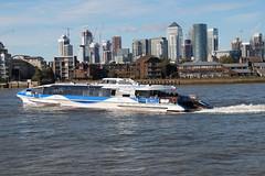 Thames Clipper Aurora - Greenwich (Neil Pulling) Tags: london riverthames greenwich uk england