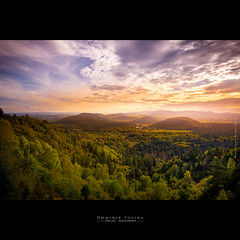 Les Volcans d'Auvergne | France (dominikfoto) Tags: volcan auvergne rhone rhonealpes fusina fusinadominik panorama puydelavache cratere crater france tree forest nature sky sunset clouds automne autumn villefranche