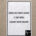 Words on wall by Ak [Lyon, France] thumbnail