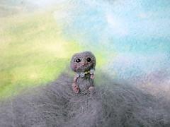 136-cloud 23mm (1) (tinyteensdolls) Tags: amigurumi amigurumidoll crochet craft crochetmini crochetminiature crochettoy crochetdoll miniature microcrochet mini micro minicrochet miniamigurumi toy tinyamigurumi tiny teddy threadcrochet small handmade cloud
