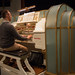 04 DSCN1528c Richard Hills rehearsing the Seaside Concerto for Wurlitzer and Orchestra by Paul Lewis. 3rd November 2018. The Musical Museum, London. (Photo Lucy Robinson)