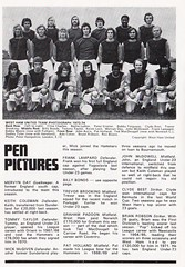 Southampton vs West Ham United - 1974 - Page 8 (The Sky Strikers) Tags: southampton west ham united football league division one the dell matchday magazine 7p