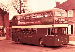 London transport XF6 on route 424 Reigate 1965. (Ledlon89) Tags: london bus buses transport lt lte londonbus londonbuses londontransport