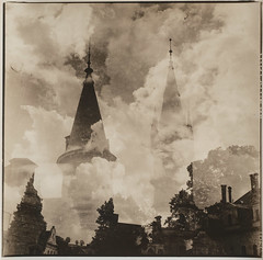 The_Summer_of_the_Middle_Ages_Staszowice_Adam_Fleks_2018_02 (Adam Fleks) Tags: lithprinting lithphotography lith lithprint kodakhc110 orwobh111 moerscheasylith doubleexposure filmphotography filmcameras analoguephotography analog analogue staszowice mamiya mamiyac330f ilfordhp5plus mystery history castle architecture poland