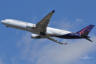OO-SFM A333 BRUSSELS AIRLINES