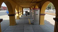BurlingameStation22SEP18 19 (By Air, Land and Sea) Tags: train rail railway railroad station depot suburban commuter california caltrain burlingame sanfrancisco pcs peninsulacommuteservice