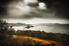 25 days left (der_peste (on/off)) Tags: scotland castlestalker castle appin portnacroish argyllbute clouds landscape sea hills ginster trees cloudscape dramatic travel