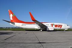 EI-ESL / HL-8323  B737-8AS(WL)  T'Way Airlines (n707pm) Tags: eiesl boeing 737 737800 b7378as 737wl aircraft airplane airline airport einn snn coclare ireland rineanna ryanair hl8323 iac iacpainthangar cn34988 shannonairport twayairlines