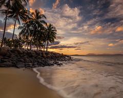 Shel's Beach (BTAdelaide) Tags: landscape landscapephotography landscapes nature beautiful beach port douglas queensland seascape sunset sunlight clouds goldenhour waves ocean