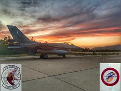 343sq-Flight Line (Stavros Filippakis) Tags: fighter linemaintenance f16 crewchief hellenicairforce