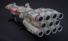 Tantive IV engine block (Tino Poutiainen) Tags: lego legomoc legobuild legography scale ship scifi space star wars lucasfilms tantive iv film moc midiscale photograph photography toyphotography model