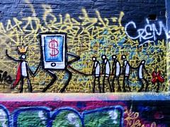 Exit Enter / Werregarenstraatje - 14 okt 2018 (Ferdinand 'Ferre' Feys) Tags: gent ghent gand belgium belgique belgië streetart artdelarue graffitiart graffiti graff urbanart urbanarte arteurbano ferdinandfeys exitenter