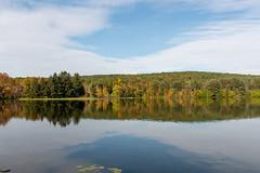 ashleyreservoir2018-146 (gtxjimmy) Tags: ashleyreservoir nikond7500 nikon d7500 newengland holyoke massachusetts autumn fall watersupply reflections reflection hdr