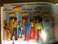 Snapshots from Action Star Hardy booklet (etmcneal) Tags: dusty vintagedoll vintageactionfigure sportgirldenny actionstarhardy