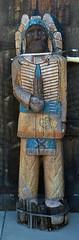 A wooden Indian folk art statue at Grand Canyon, Arizona (albatz) Tags: americansouthwest grandcanyon arizona northrim usa wooden indian folkart statue