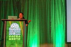 Manoush Zomorodi keynote 3 - HighEdWeb 2018 (HighEdWeb) Tags: heweb18 ca california highedweb highedweb18 highedweb2018 sacramento sacramentoconventioncenter conference keynote