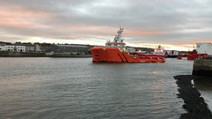 Cygnus Sentinel - Aberdeen Harbour Scotland - 2018 (DanoAberdeen) Tags: aberdeenharbour aberdeenscotland standbysafetyvessel mpeg video pocraquay fittie footdee tanker oilships offshore psv tugboats cargoships tugboat tug aberdeen ship errv cygnussentinel 2018 amateur candid danoaberdeen tugs boats vessels ships abdn abz uk gb harbour seaport scotland metal oilrigs torry maritime northeast clouds autumn summer winter spring seafarers workboats water