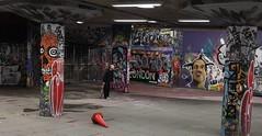 Skateboarder (radio53) Tags: london southbank skateboard skateboarding thames