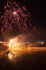 DSC00515 (thomas.pirolt) Tags: india diwali divali dipawali dipavali night art light lights candle fire beauty radhakund radha krishna krsna radharani braj vrindavan