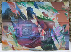 Streets tonight (SERGEY AKRAMOV) Tags: сергейакрамов sergeyakramov art artwork acrylic aerosol abstraction acryl alvitrgallery akramov paint painting streetart sprayart spray spraypaint street layers canvas contemporary fineart contemporaryart composition