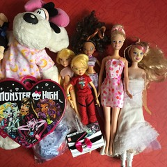 Flea Market Finds : 09-22-2018 (Part 1) (MyMonsterHighWorld) Tags: diddle diddlina monster high winx club mattel stella school layla barbie swan lake odette crystal fairytopia doll