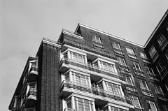 Marylebone (Jim Davies) Tags: london film analogue veebotique compactcamera 35mm photography analog camera canon sureshot 90uii 400asa ilford xp2 monochrome chromogenic c41 september filmfilmforever believeinfilm uk britain greatbritain england buildings architecture artdeco